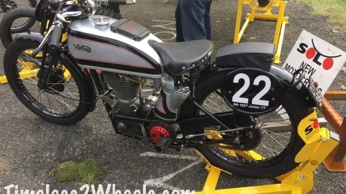 Norton 350 came 5th in 1937 Isle of man grand prix