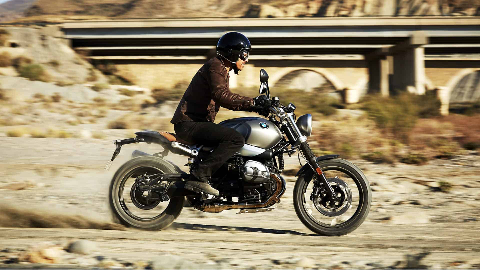 The BMW Scrambler can actually go off road