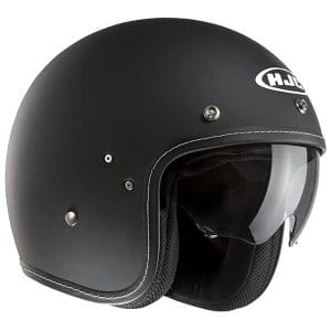 The HFC FG-70s matt black with built in visor