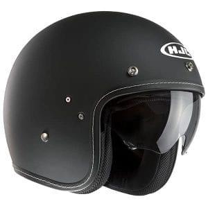 The HFC FG-70s matt black with built in visor
