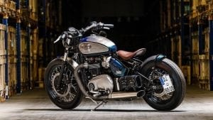 Triumph Bobber customised by Bike Bros