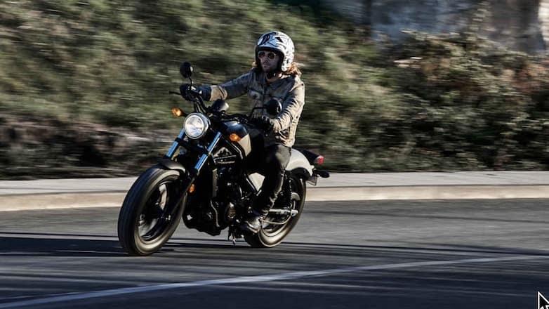 Honda Rebel bobber a good beginner motorcycle
