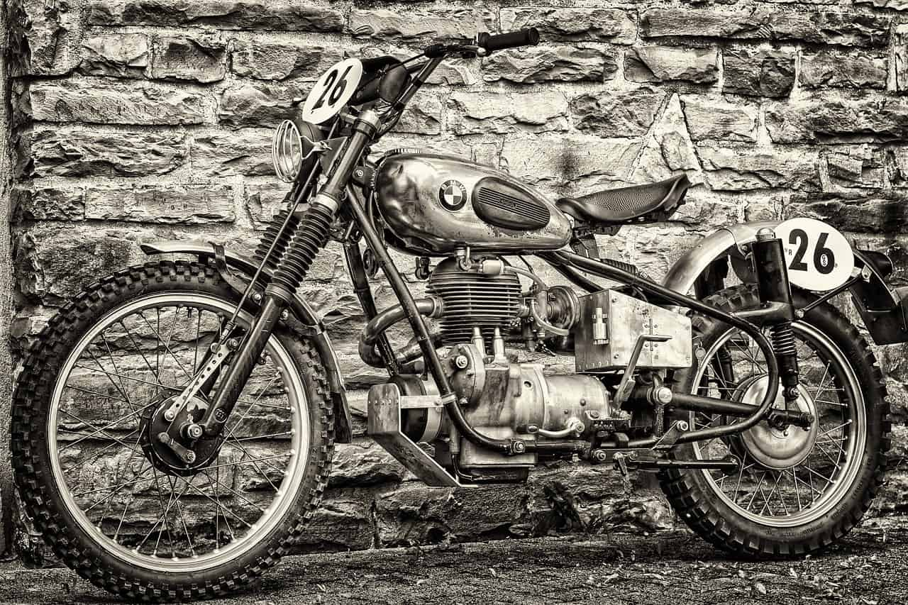 classic scrambler motorcycle