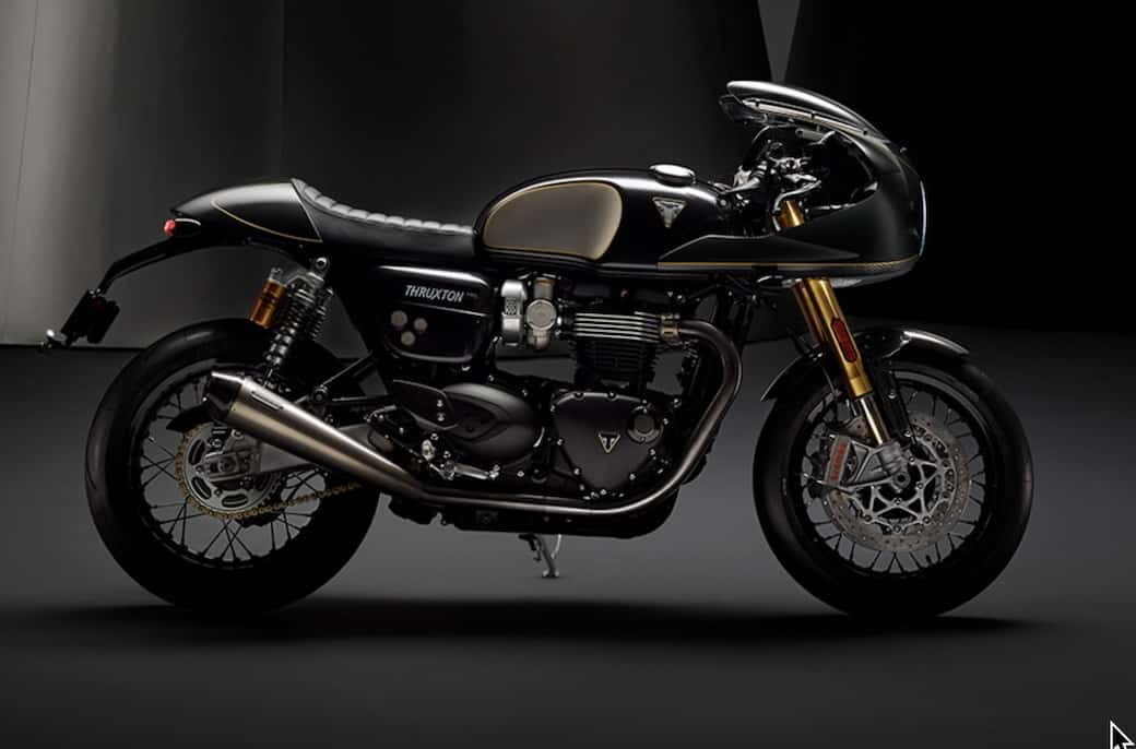 the Thruxton is one of the main reasons why cafe racers are so popular