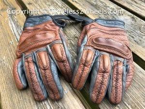 retro motorcycle gloves