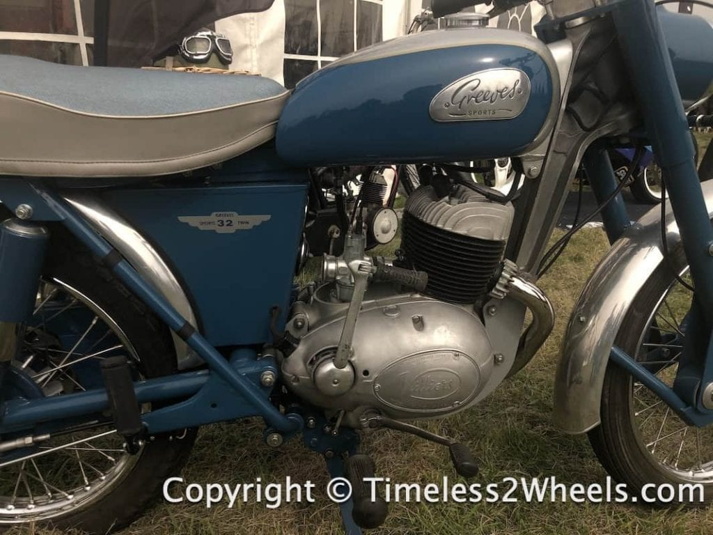 Greeves motorcycle with Villiers engine