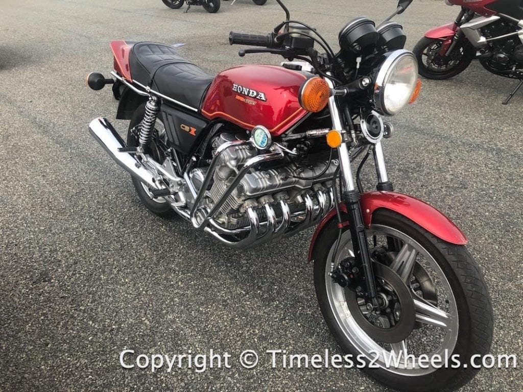 Honda CBX 6 cylinder