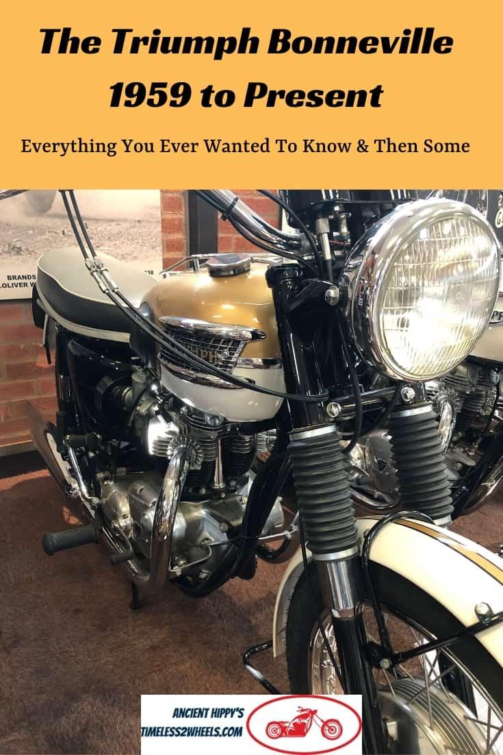 Triumph Bonneville History– Icons Never Die