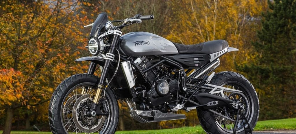 My favourite of the new Norton motorcycles - the Atlas