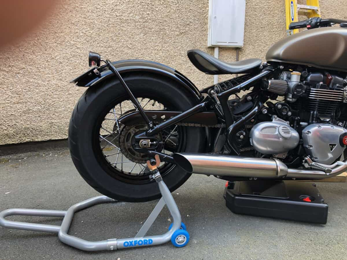 Oxford rear paddock stand for Triumph Bobber
