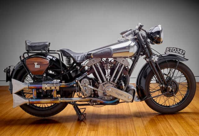 The Brough Superior was the worlds first superbike