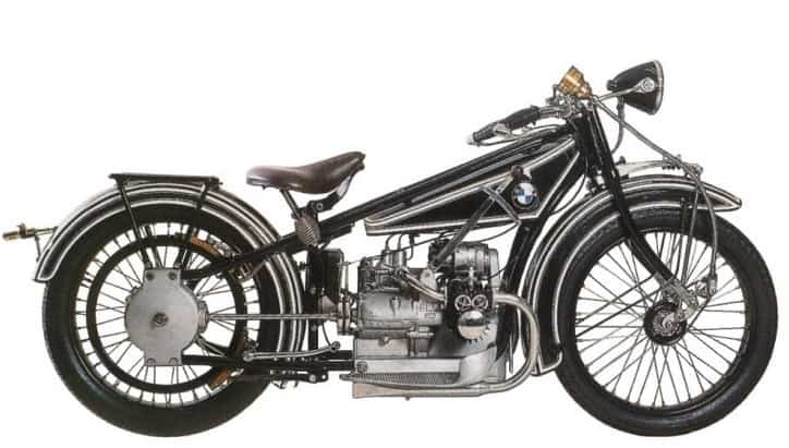 The BMW R32 1920's motorcycle