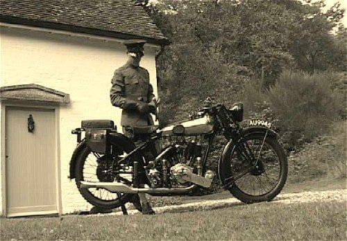 The Brough Superior was without doubt, the best of all the 1920's motorcycles