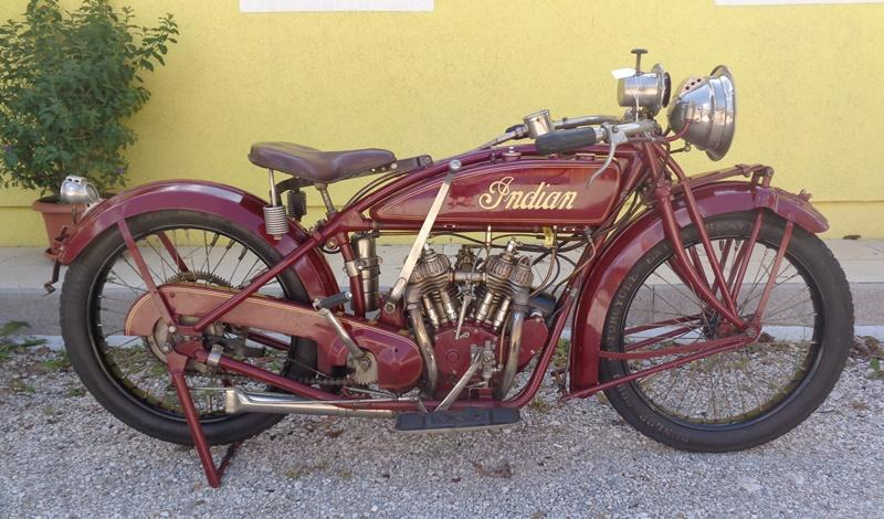 The original Indian Scout was released in late 1919