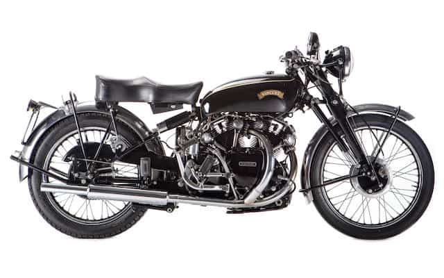 The Vincent Black Shadow is considered by many to be the first ever superbike