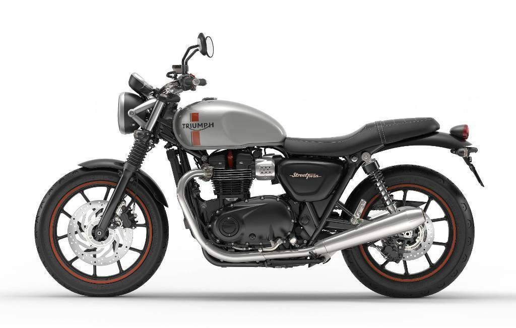 The factory fitted A2 restrictor makes the Triumph Street Twin good for beginners