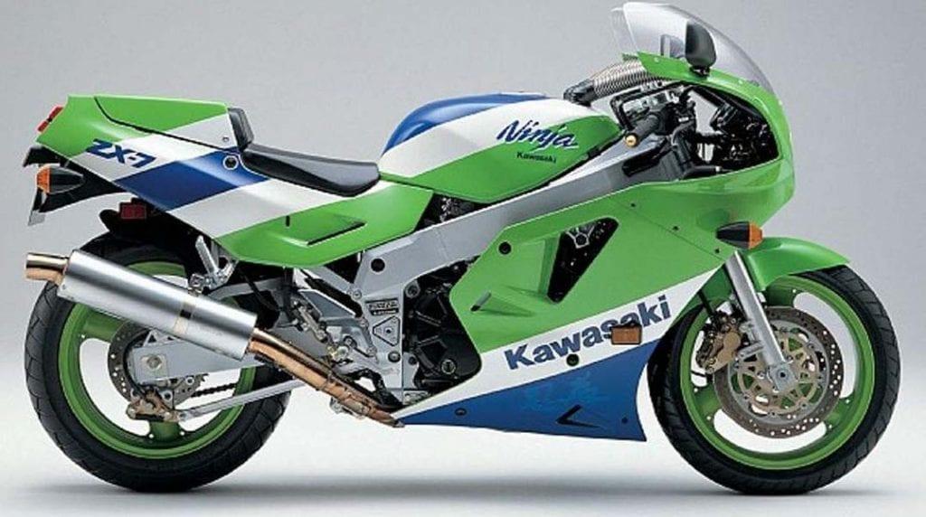 The frightening Kawasaki ZXR750 H1