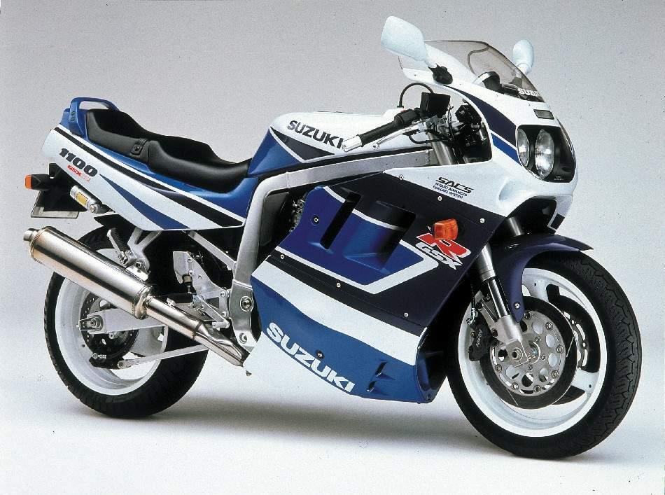 The Suzuki GSX-R1100
