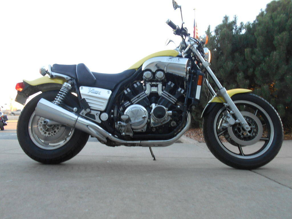 The V-Max 1200 was the ultimate muscle bike of the 1980's