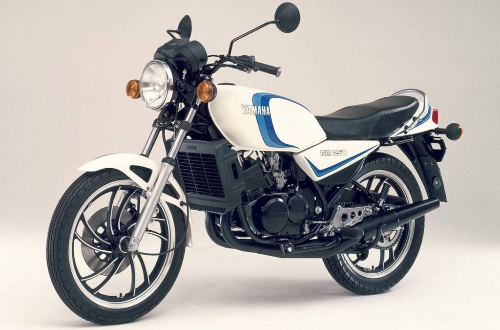 RD250LC was a game changer for 80's motorcycles