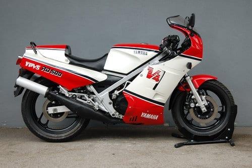 1980's classic motorcycle, the Yamaha RD500 YPVS