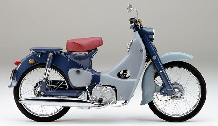 Best selling motorcycle of all time was released in the 1950's