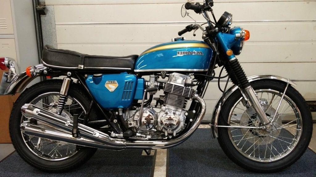 rare sand-cast Honda CB750 can fetch £50k