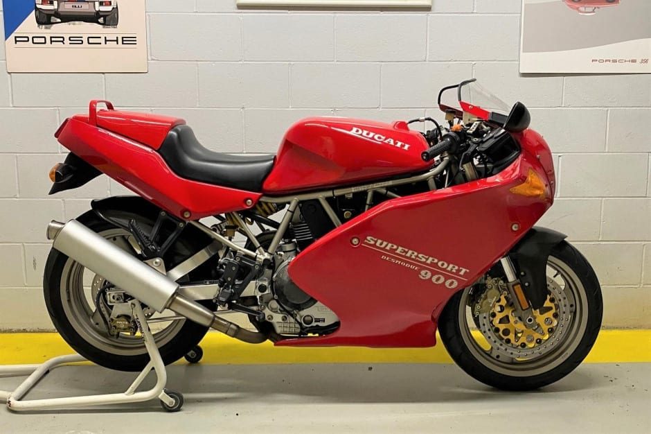Ducati 900SS SP edition sold for just short of $9000