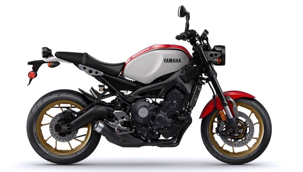 the XSR900 retro motorcycle