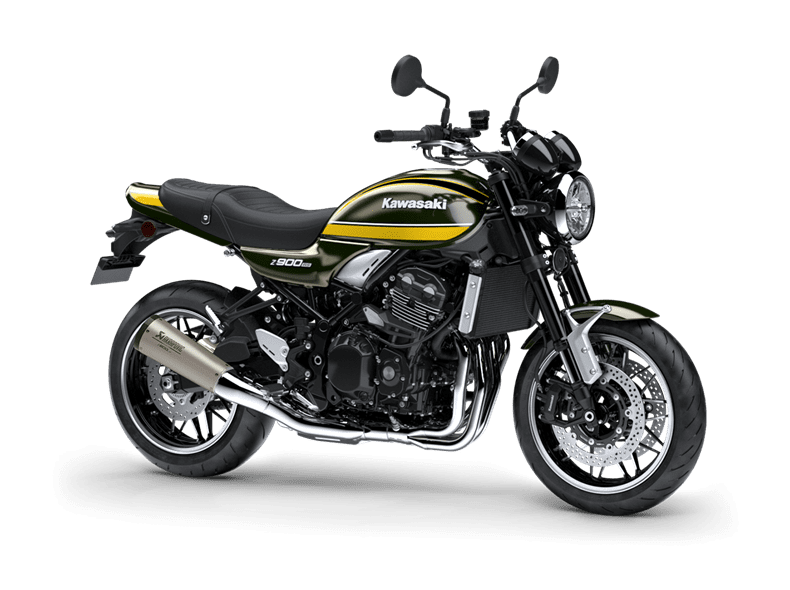 new retro motorcycles for 2021 include the Kawasaki Z900RS Performance