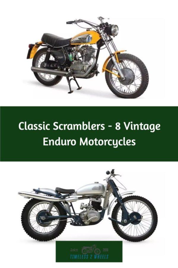 Classic Scramblers - 8 Vintage Enduro Motorcycles
