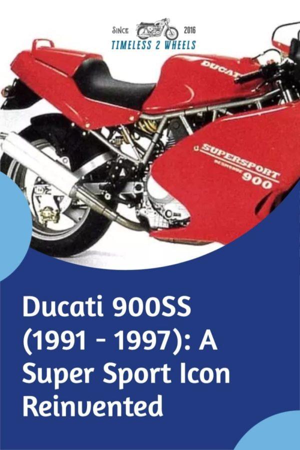 Ducati 900SS (1991 - 1997): A Classic Reinvented