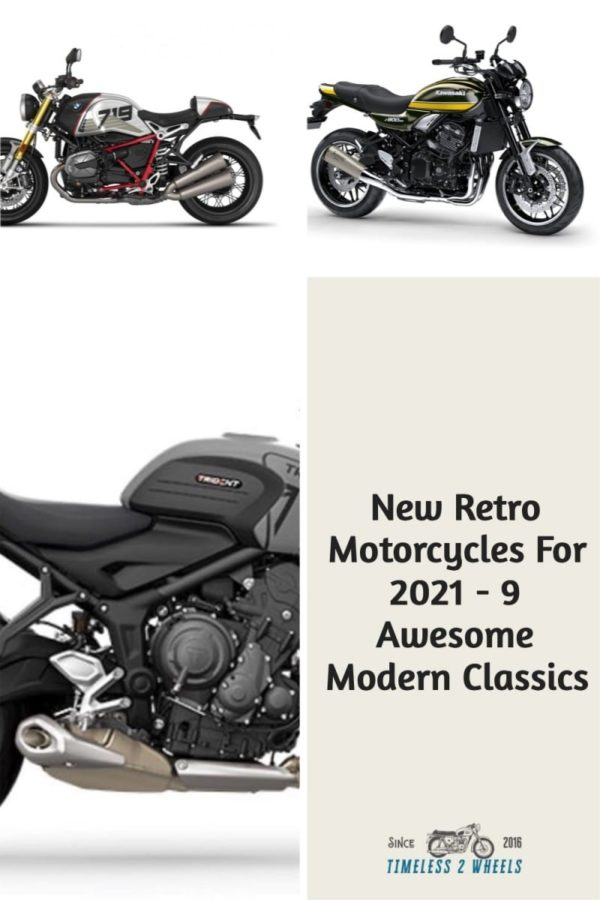 New Retro Motorcycles - 9 Awesome Modern Classics