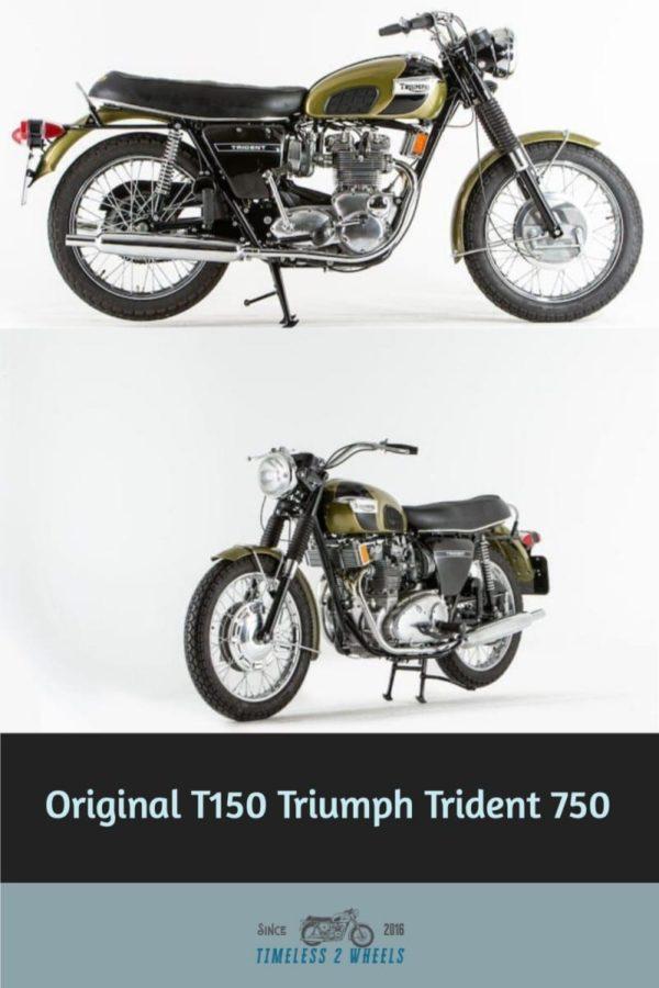 Original Triumph Trident 750 Review