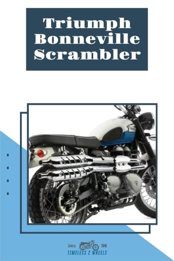 Triumph Bonneville Scrambler 2006 - 2019