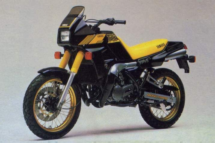 The Yamaha TDR250 YPVS is already becoming collectible