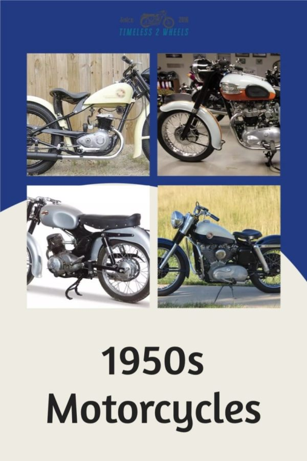 1950\'s Motorcycles – 11 Classic Motorcycles of the Fifties