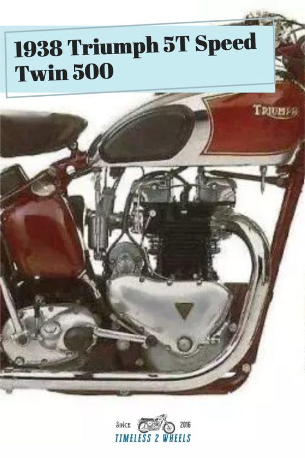 1938 Triumph 5T Speed Twin 500
