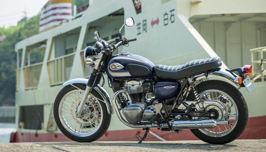 A used Kawasaki W800 is a popular option for those looking for a cheap retro motorcycle
