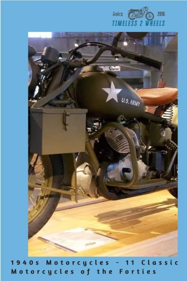 1940s Motorcycles - 11 Classic Motorcycles of the Forties