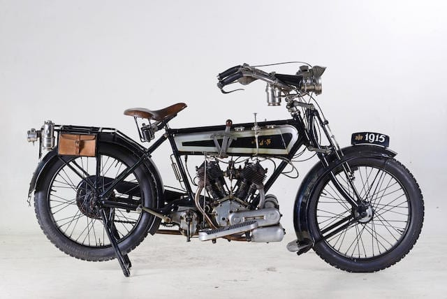 This AJS Model D was sold by Bonhams in April 2019 for £17,250