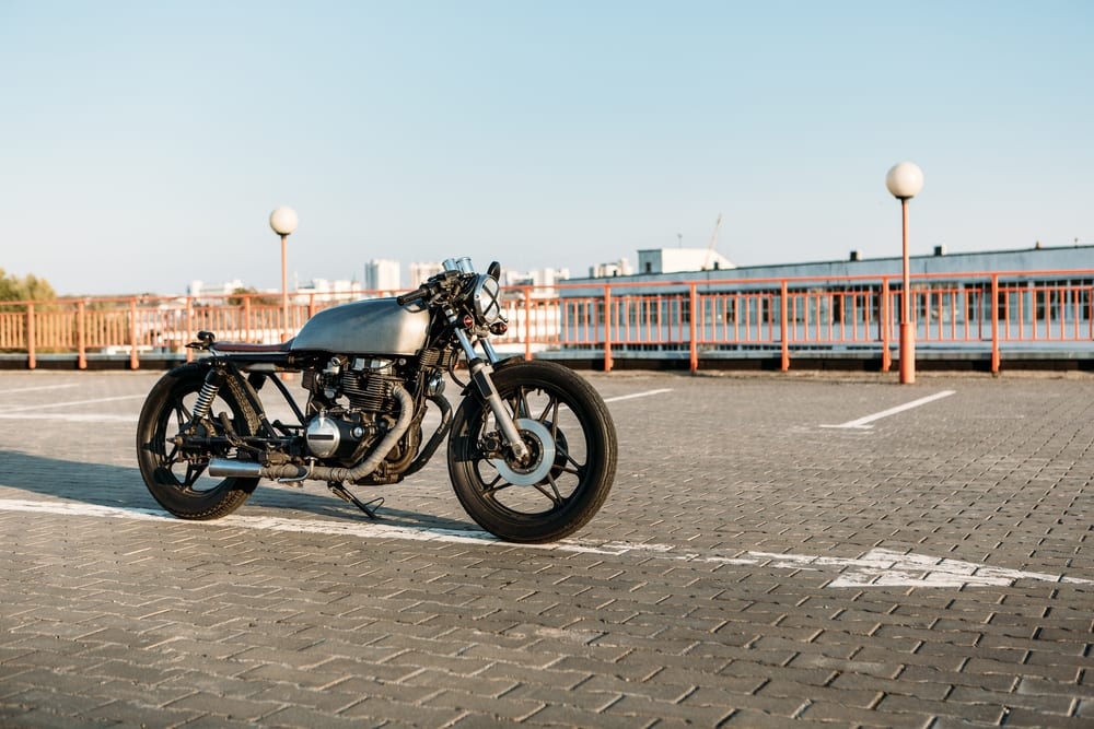 would this Cafe Racer hurt your back?