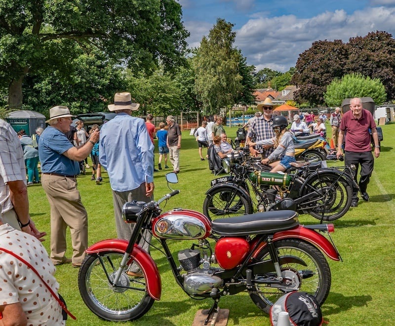 1940s motorcycles includes the famous BSA Bantam