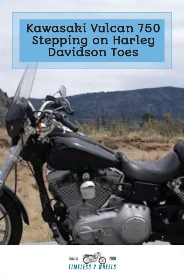 Kawasaki Vulcan 750 - Stepping on Harley Davidson Toes