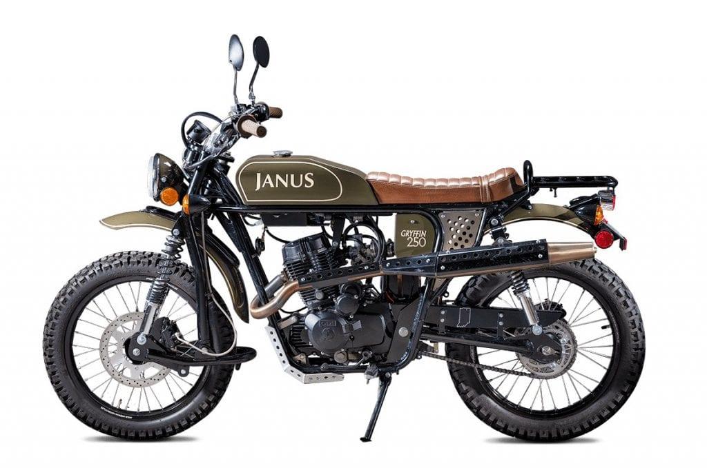 Janus Gryffin 250 Scrambles