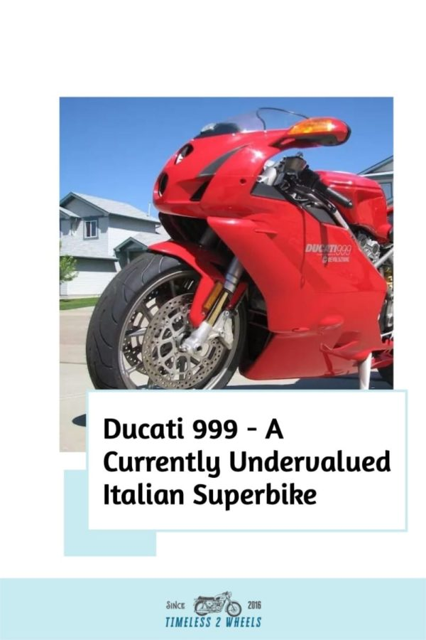 Ducati 999 - A Currently Undervalued Italian Superbike