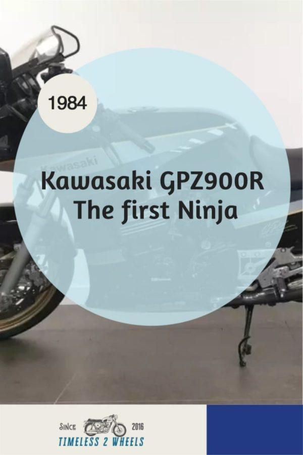 1984 Kawasaki GPZ900R - The first Ninja