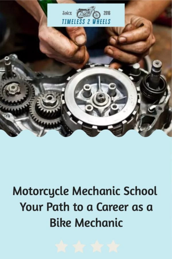 Motorcycle Mechanic School - Your Road to Being a Bike Mechanic