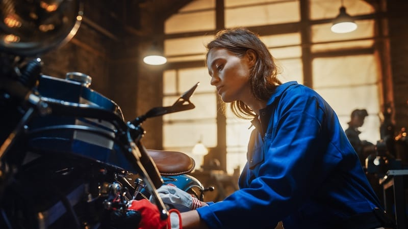 a career as a motorcycle mechanic can be rewarding