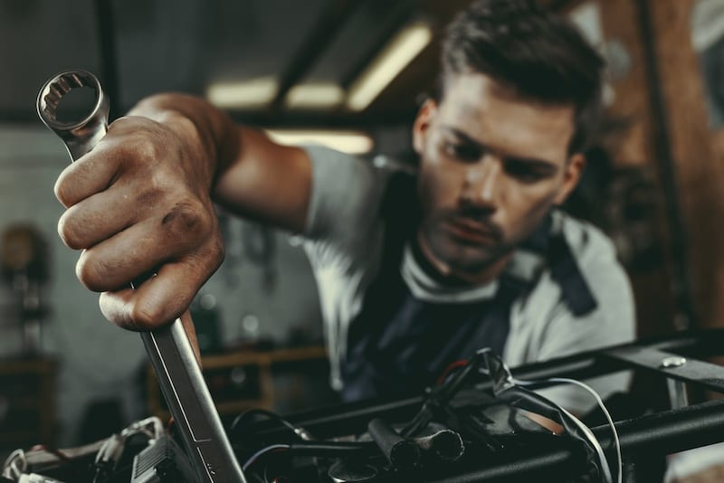 Motorcycle mechanic school offers practical training as well as theory